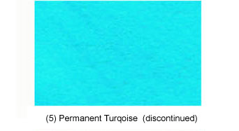 (5) Permanent Turquoise (discontinued)