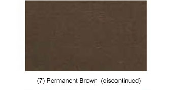 (7) Oermanent Brown (discontinued)